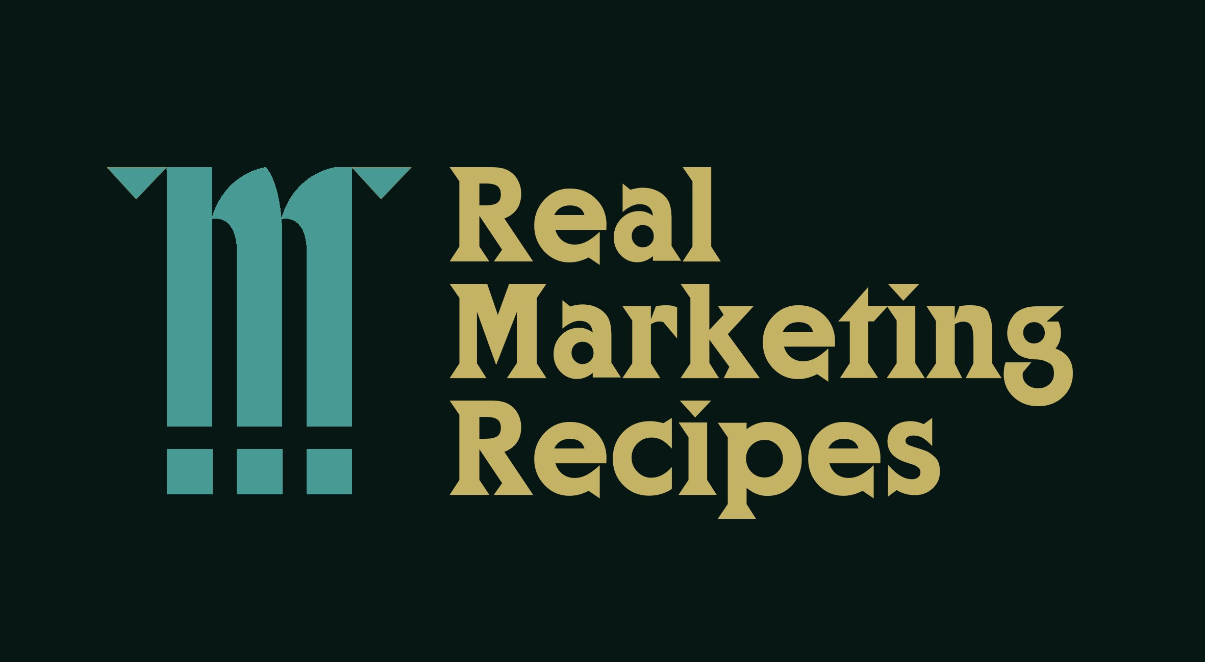 Real Marketing Recipes