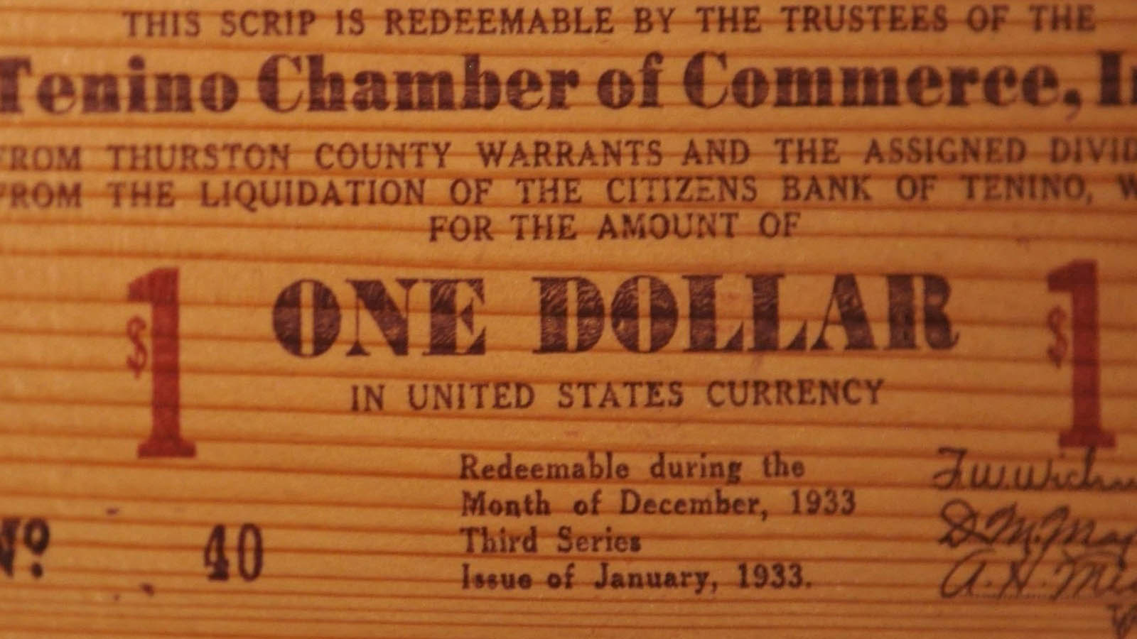 The Tiny Town With Its Own Currency